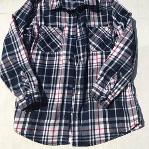 Tommy Hilfiger plaid shirt size 7